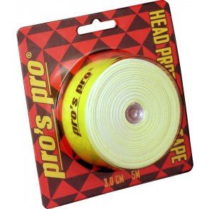 Pro's Pro Kopfschutzband 3cm 5m neon-grün