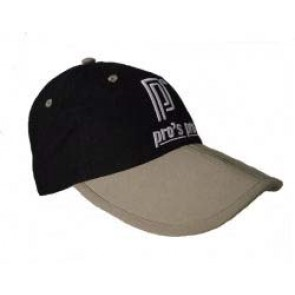 Pro's Pro Kappe R008 schwarz-beige