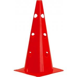 """***Pros Pro Markierungskegel 15""""(38 cm)gelocht,rot"""