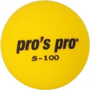 Pro's Pro Tennisball Schaumstoff S-100 gelb 90 mm