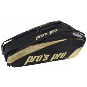 Pro's Pro 8-Racketbag Gold
