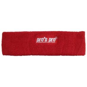 Pro's Pro Stirnband rot