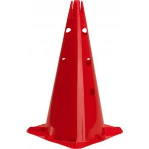 """Pro's Pro Markierungskegel 18""""  (46 cm) gelocht, rot"""