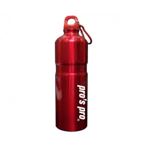 Pro's Pro Sport Bottle Alu Trinkflasche rot