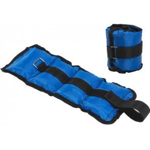 Pro's Pro Gewichtsmanschetten 2 x 0.75 kg blau