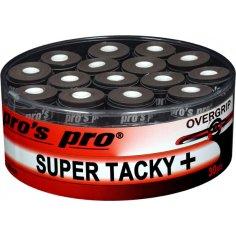 60x Pros Pro Super Tacky Schwarz Griffb/änder Grip Black 60er