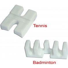 Tennis- & Badmintonadapter white