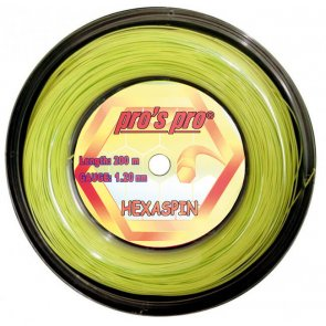 Pros Pro HEXASPIN 200 m 1.25 lime