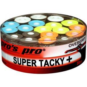 pros pro Tennis Griffband SUPER TACKY PLUS 30er sortiert