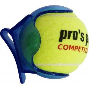 Pros Pro Ballhalter blau transparent