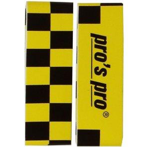Pros Pro Single Kopfschutzband gelb/schwarz 2er