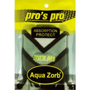 Pros Pro Aqua Zorb SCHWEISSBAND schwarz/grau