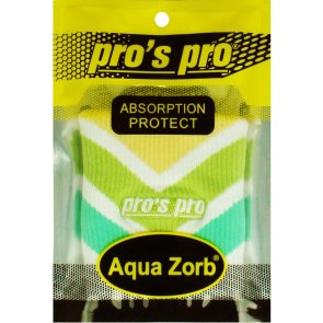 Pros Pro Aqua Zorb SCHWEISSBAND weiß/grün/gelb