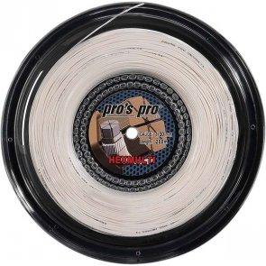 Pro's Pro Tennissaite 200 m Synthetik Hexmulti 1,30 mm weiss sechseckig