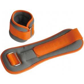 Pro's Pro Gewichtsmanschetten 2 x 1 kg grau/orange