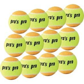 Pro's Pro Beach Tennis Ball 12er gelb / orange