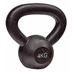 Pros Pro Kettlebell 4 kg° Gusseisen schwarz