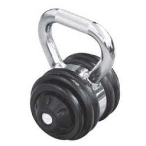 Pros Pro variable Kettlebell 12 kg 4 Hantelscheiben