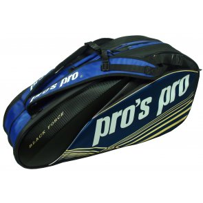 8-Racketbag Black Force schwarz/blau