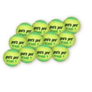 Pro's Pro Stage 1 gelb/grün 12er Packung