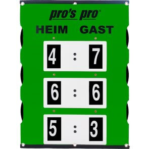 Pros Pro Spielstandanzeiger XL 82 x 58 cm