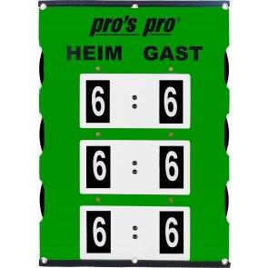 Pros Pro Spielstandanzeiger SUPER LARGE 90 x 60 cm
