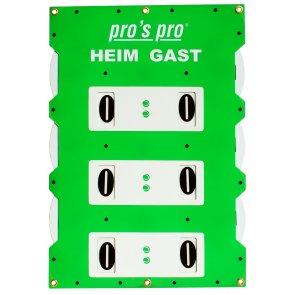 Pros Pro Spielstandanzeiger SUPER BIG 90 x 60 cm