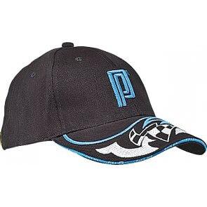 Pro's Pro Kappe R004 schwarz/blau mit Stickmotiv