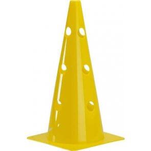 """Pros Pro Markierungskegel15""""(38 cm)gelocht,gelb"""