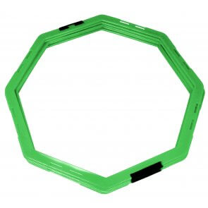 Pros Pro Koordinationsgitter (Agility Grid) 6er Set grün