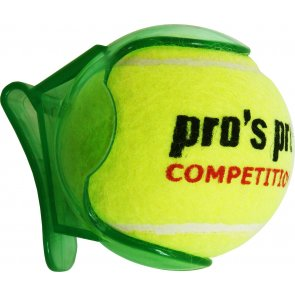 Pros Pro Ballhalter grün transparent