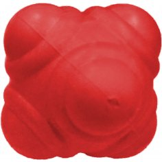 Reaktionsball 10 cm hart, rot
