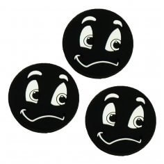 ***pros pro Funny Face Damper SORRY schwarz  3er