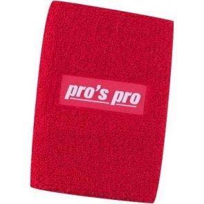 Pro's Pro Schweißband Oversize  rot