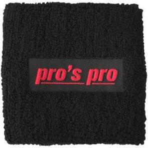 Pro's Pro Schweißband Standard schwarz