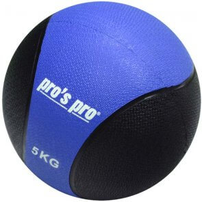 Pro's Pro Medizinball 5 kg blau/schwarz