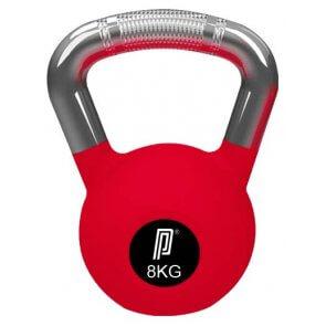 Pro's Pro Rubber Kettlebell 8 kg rot° Gummi Beschichtung