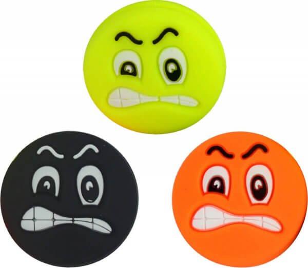 Pro's Pro Vibrationsdämpfer Funny Face Damper angry 3er