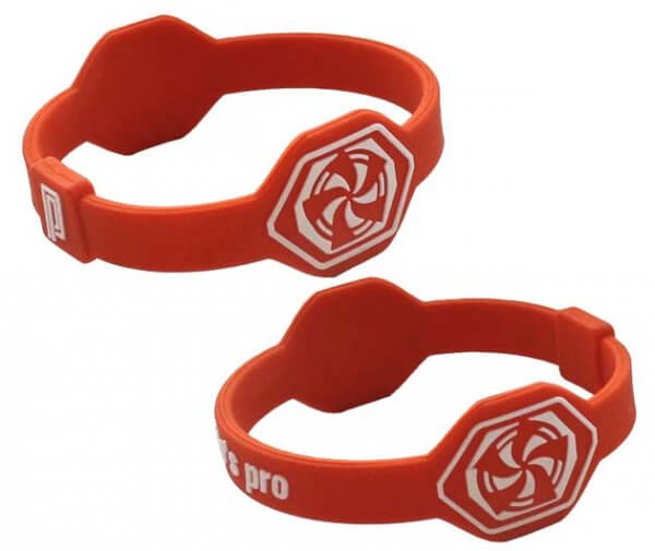 Pro's Pro Power Band No. 1 orange/weiß Armband Silikon
