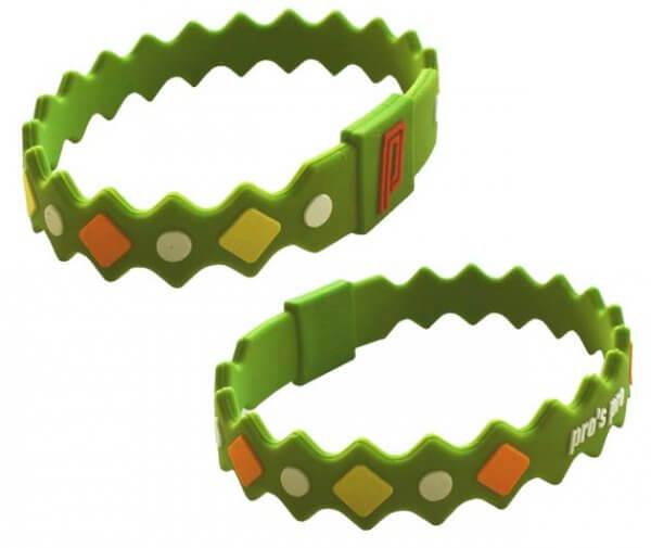 Pro's Pro Power Band No. 2 grün Armband Silikon