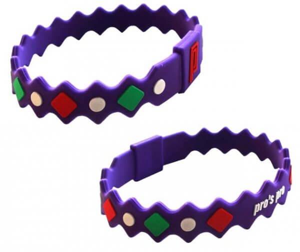 Pro's Pro Power Band No. 2 violett Armband Silikon