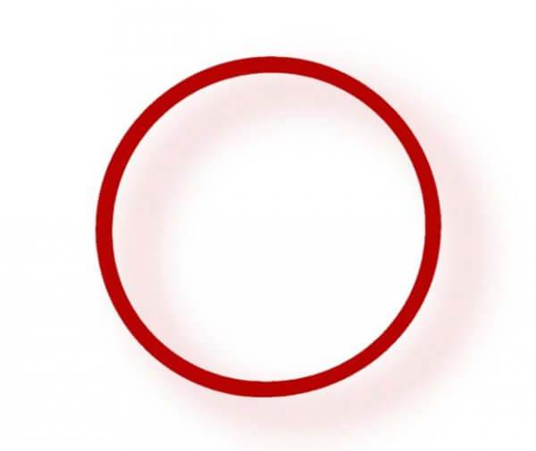 Pro's Pro Power Band No. 4 LARGE rot Armband Silikon