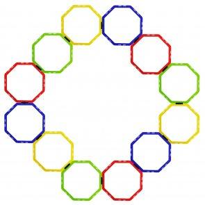 Pros Pro Octa Koordinationsgitter 12er multicolor