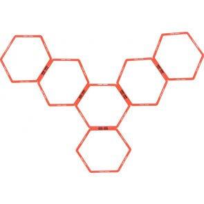 Pros Pro Hexa Agility Grid System 6er rot