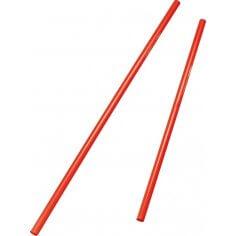 Hürdenstangen 80 cm rot