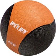 Medizinball 4 kg schwarz/orange
