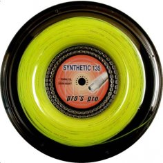 Synthetic 135 200 m neon-gelb