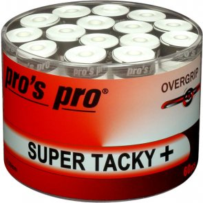 pros pro Tennis Griffband SUPER TACKY PLUS 60er weiss