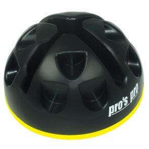 Standfuß (Agility Dome) schwarz/gelb