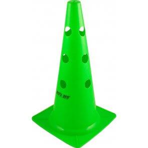 """pros pro Markierungskegel 15"""" (38 cm) gelocht, grün"""